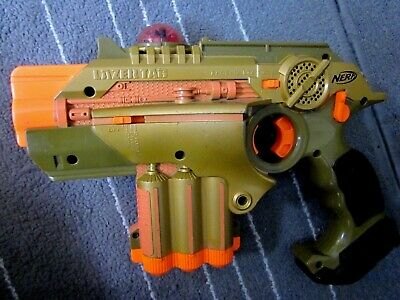NERF Lazer Tag Phoenix LTX  GOLD  Multiplayer Lazer Tag used  * Last One  *