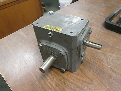 Boston Gear Reducer F721-10-B5-J Ratio 10:1 2.34 HP IN 789 LB-IN Torque Out