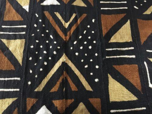 """Superb Bogolan Mali Mud Cloth Textile 40"""" by 60"""""""