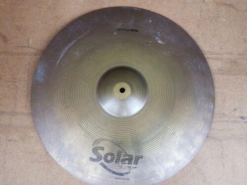 """Solar By Sabian Ride 20"""" Cymbal"""