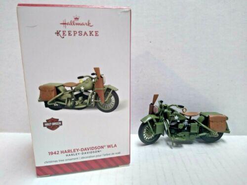 Hallmark Keepsake Harley Davidson Christmas Ornament... 1942 Harley-Davidson WLA