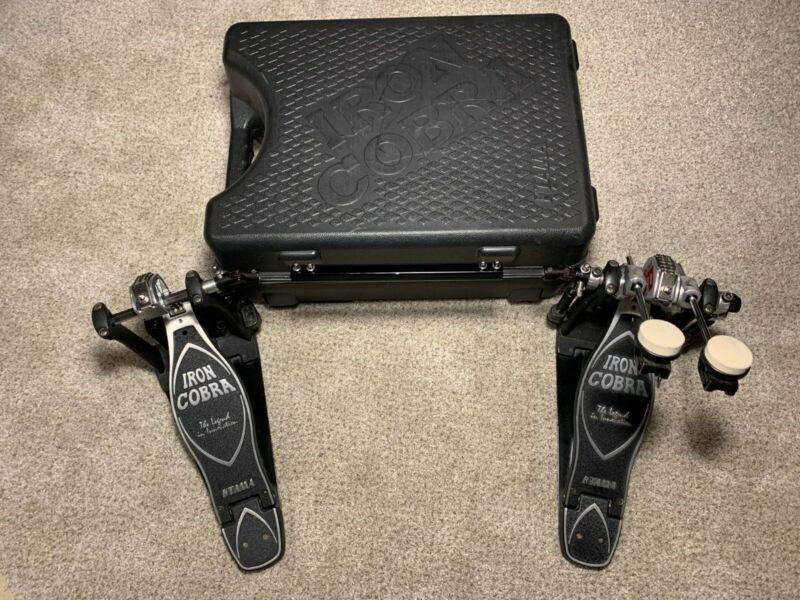 Iron Cobra Double Bass Pedal Power Drive 900