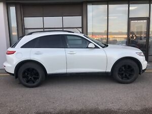 Infiniti FX35 with All terrain tires
