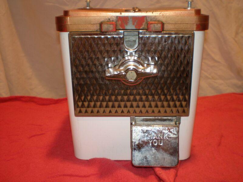Vintage Komet King Koin candy/peanut machine base
