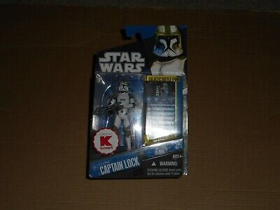 STAR WARS CLONE WARS KMART EXCLUSIVE CLONE CAPTAIN LOCK DAMAGED