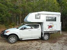 2015 Ozcape Shorta - top of the range slide-on camper Cooran Noosa Area Preview