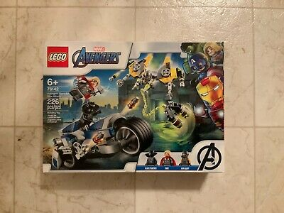 LEGO Marvel Super Heroes Avengers Speeder Bike Attack 76142