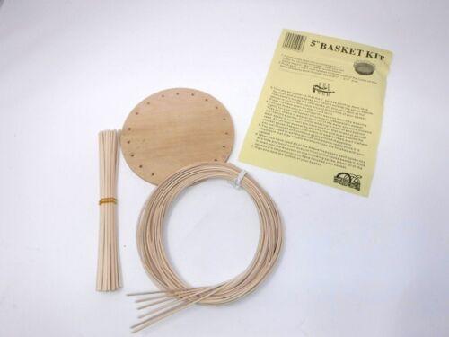 """Lot of 50 5"""" Basket Weaving Kits, Basket 5X5X5"""