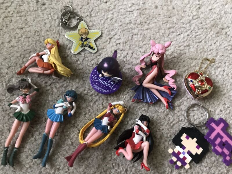 Sailor Moon Toys Lot