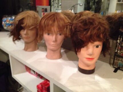 Hair dresser practice heads models mannequin bargain Beaconsfield Cardinia Area Preview