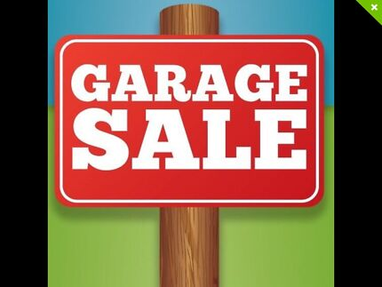 Garage Sale Starting Today