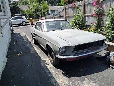 1967 Ford Mustang  1967 Mustang Coupe Barn Find Project Car