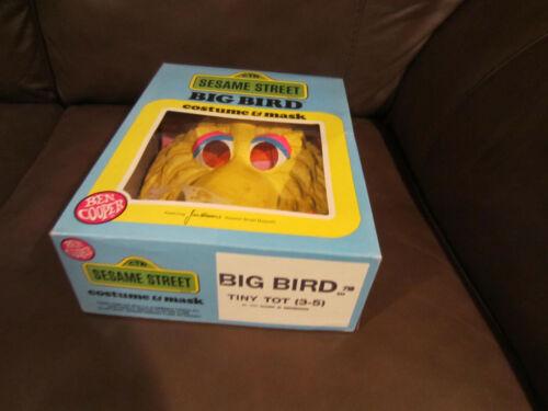 BIG BIRD SESAME STREET BEN COOPER HALLOWEEN COSTUME 80