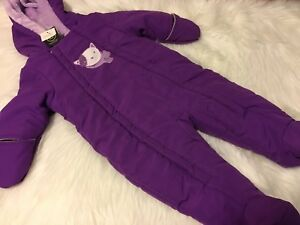 New with tags 6-12 months snowsuit
