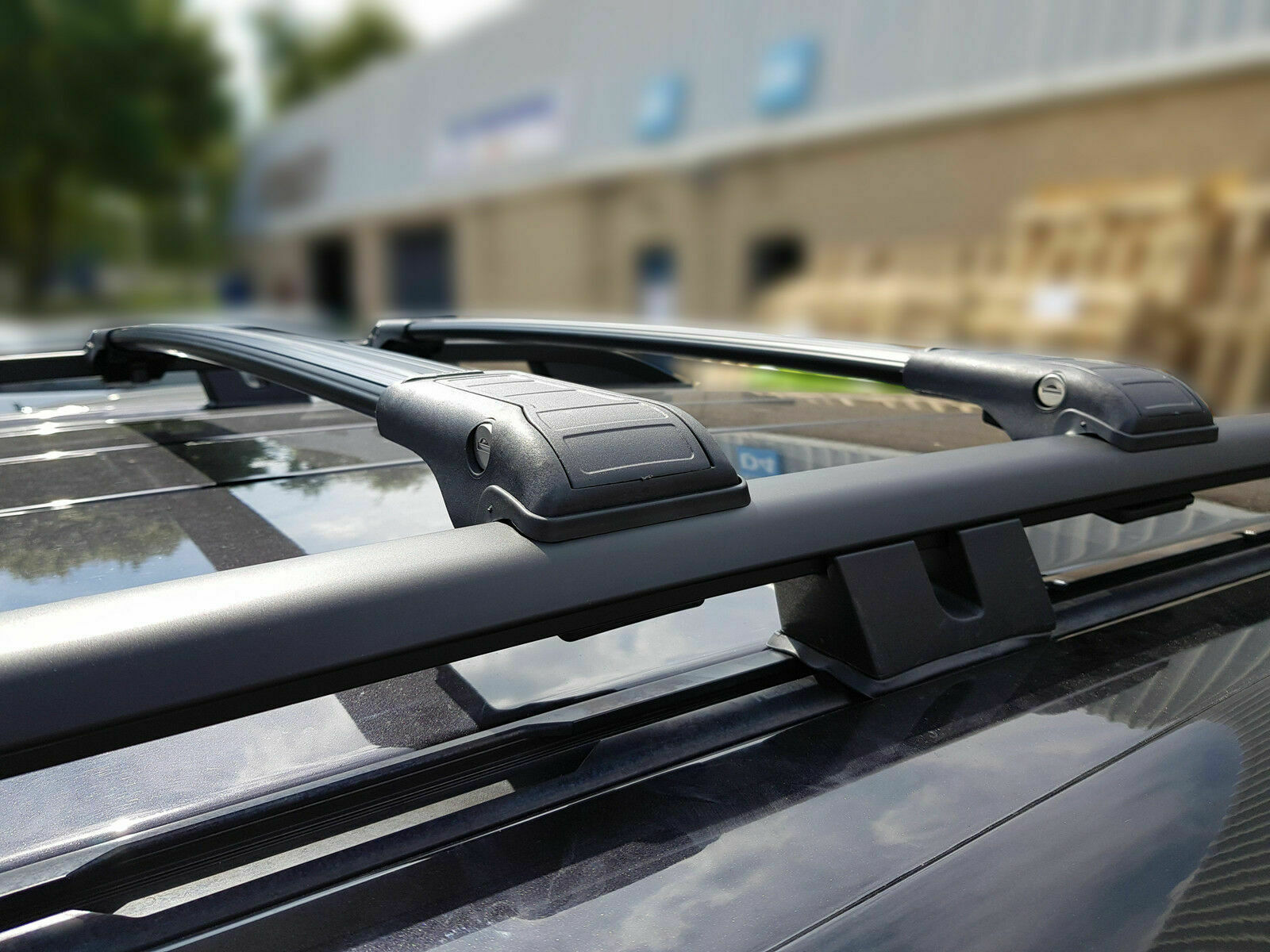 VW TIGUAN LOCKABLE CROSS BAR ROOF BARS RACK 75 KG LOADING CAPACITY 2007-2015