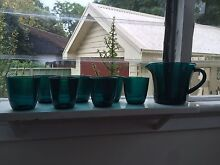 Vintage glass and jug set Windsor Hawkesbury Area Preview