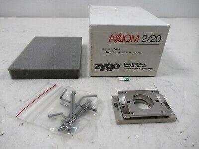 Zygo Axiom 220 7011 Interferometer Mount Nos Unit Original Box