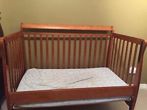 4 in 1 convertible crib with brand new mattress
