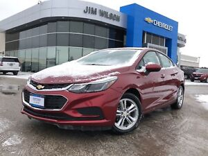 2018 Chevrolet Cruze LT SUNROOF HEATED SEATS BLUETOOTH REAR CAME
