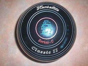 "Henselite CLASSIC 11 Lawn Bowls Size 4 WB12 ""SERIES C"" As New Surfers Paradise Gold Coast City Preview"