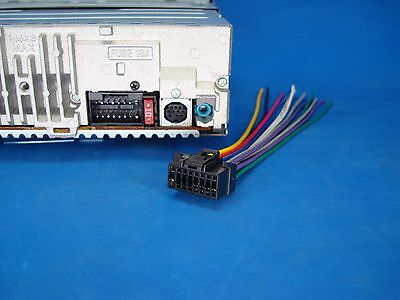 16 Pin Sony Car Stereo Wiring Diagram from i.ebayimg.com