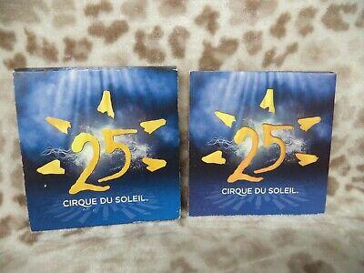 25 [Digipak] by Cirque du Soleil (CD, Jun-2009, 2 Discs, Cirque du Soleil) Cirque Du Soleil 2009