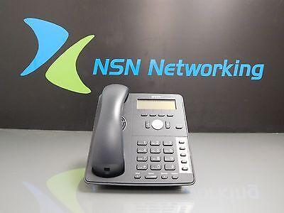 Snom 710 Sip Voip Black 4-line Display Phone W Base Handset