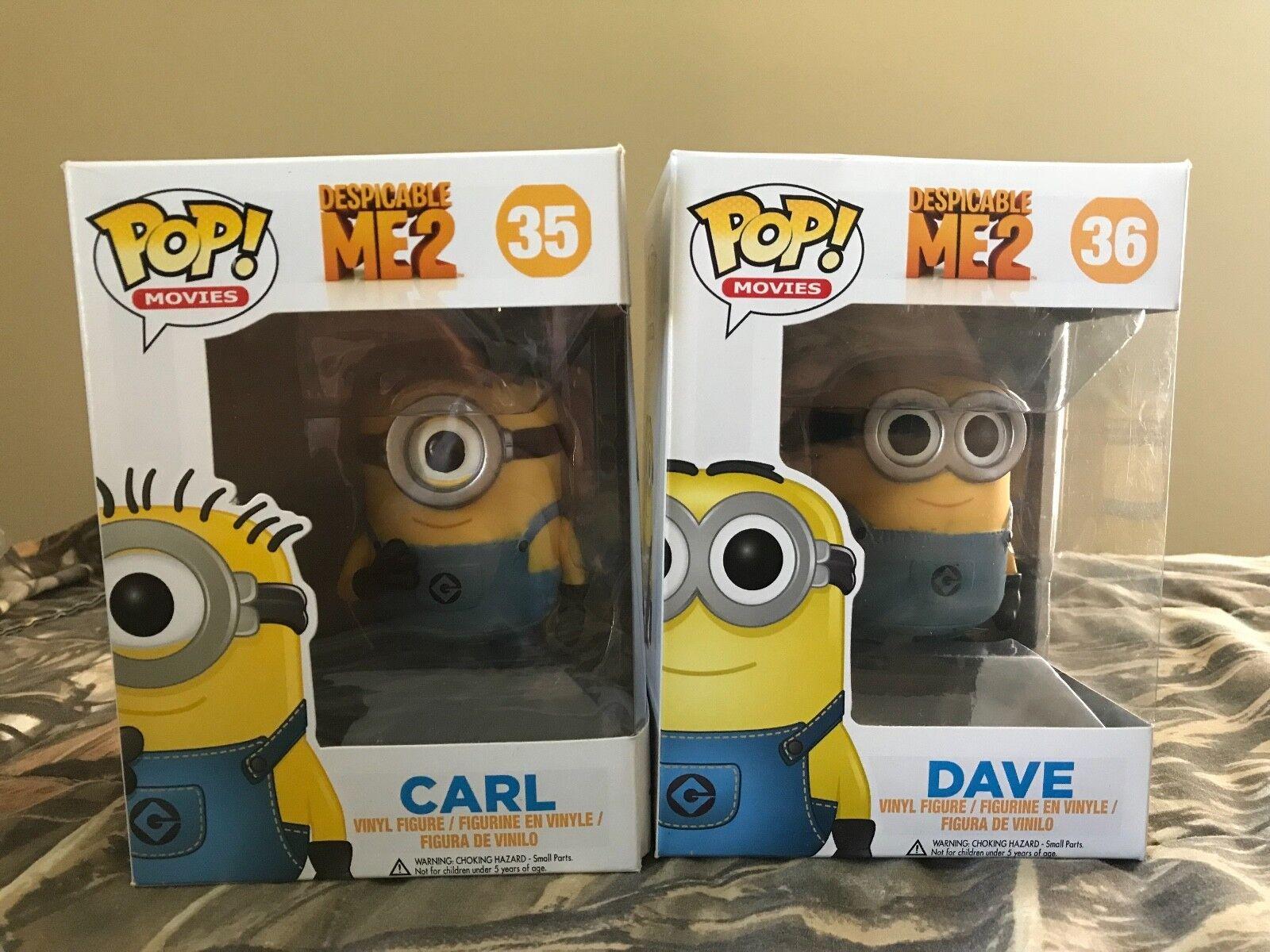 6x Brand New POP Minion Figures