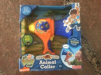 Go Diego Go Toys (Fisher Price Go Diego Go Safari Rescue Animal Caller NEW)