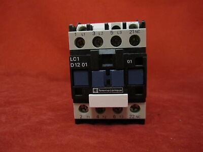 Telemecanique Lc1d1201f7 Magnetic Contactor 110v 5060hz