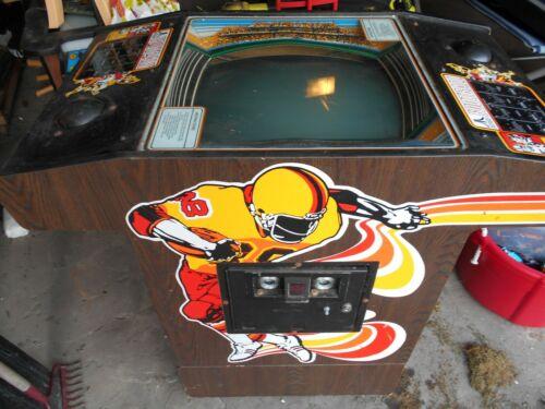 classic Atari FOOTBALL cocktail table arcade video game machine