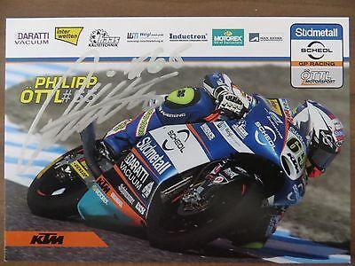 Handsignierte AK Autogrammkarte *PHILIPP ÖTTL* Moto3 Saison 2017 Deutschland
