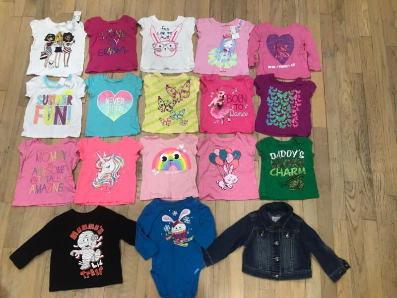 Baby Girls 6-9 Months Childrens Place Spring Summer Winter Mixed Lot Of 18