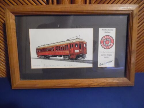 Pacific-Electric Railway Print, #418,  Signed by Michael Scott Kent