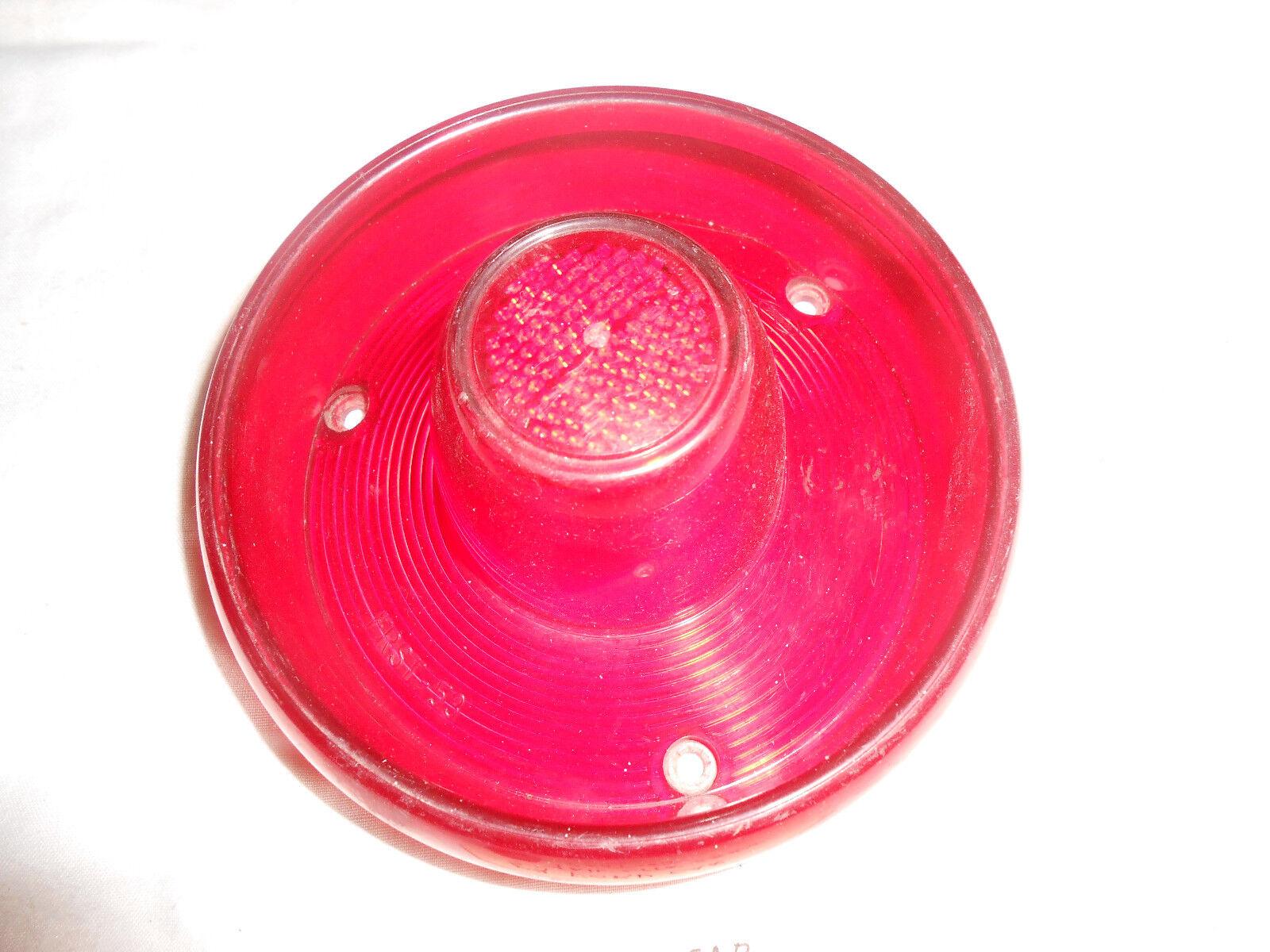 1953 FORD CAR TAIL  LIGHT LENS, FRST 53 FOMOCO