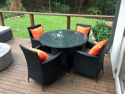 Beautiful outdoor furniture in fantastic shape. fantastic furniture outdoor settings   Gumtree Australia Free