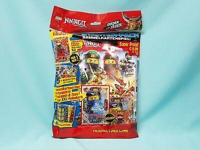 Lego® Ninjago™ Serie 4  Trading Card Starterpack Sammelmappe Starter Set Mappe