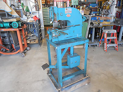 Roper Whitney 29 Punch Press Whitney Jensen Di-acro Pexto Kick Press