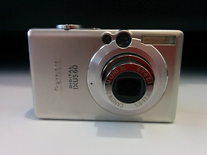 Canon IXUS 60 6.0 MP Digital Camera + Charger + Case Banksia Grove Wanneroo Area Preview