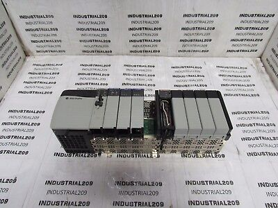 Allen Bradley 1756 10 Slot Rack 1756-l55a Processor Prosoft Mvi56 Modules