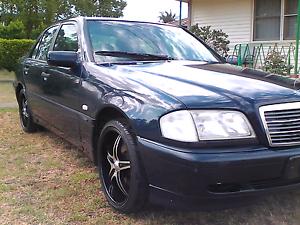 """C 180 Mercedes Bemz 1998 """"swap for a ute"""" Lethbridge Park Blacktown Area Preview"""