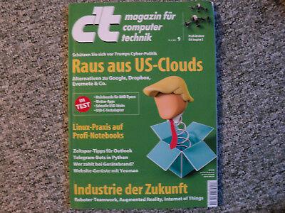 Zeitschrift c't Nr. 9, 15.4.2017 gebraucht kaufen  Brunnthal