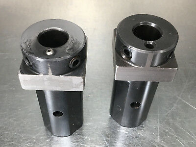 "(2) Mazak 5/8"" ID x 1-1/4"" OD Tool Holder Bushing CNC Boring Sleeve Socket 32662"