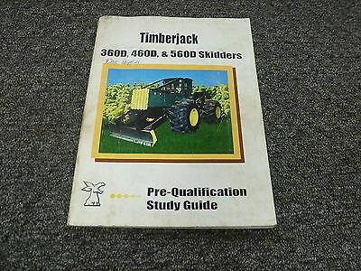 Timberjack 360d 460d 560d Skidders Loader Cable Grapple Shop Manual Study Guide