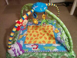 Baby activity and music gym/playmat