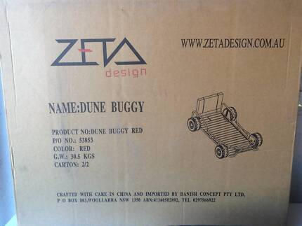 Kids Bed - Dune Buggy Red