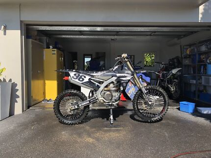 2017 Yamaha yz450f Dakabin Pine Rivers Area Preview