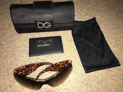 Dolce Gabbana Sunglasses DG2019 184/13 120 3N, Including Original Case And Bag