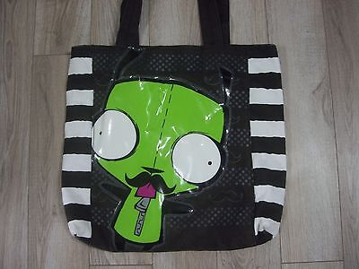 Invader Zim Gir Pig Mustache Tote Bag Purse