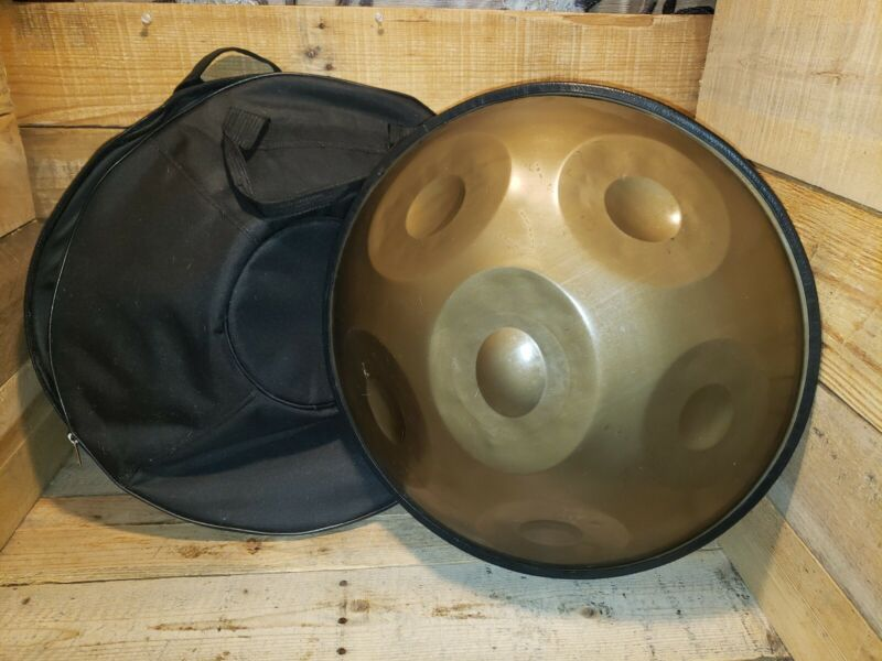 (Six) 6 Notes Hand Pan Handpan Hand Drum Carbon Steel Material Percussion w/bag